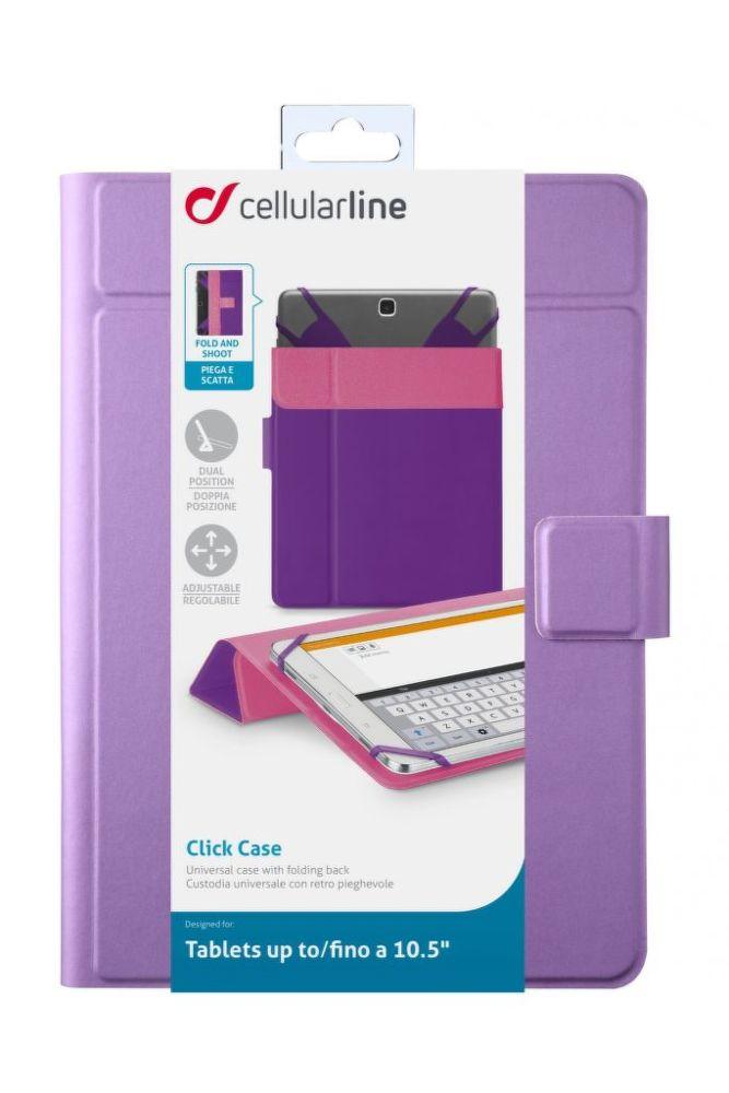 "CellularLine CLICK CASE 10,5"" (fialové)"