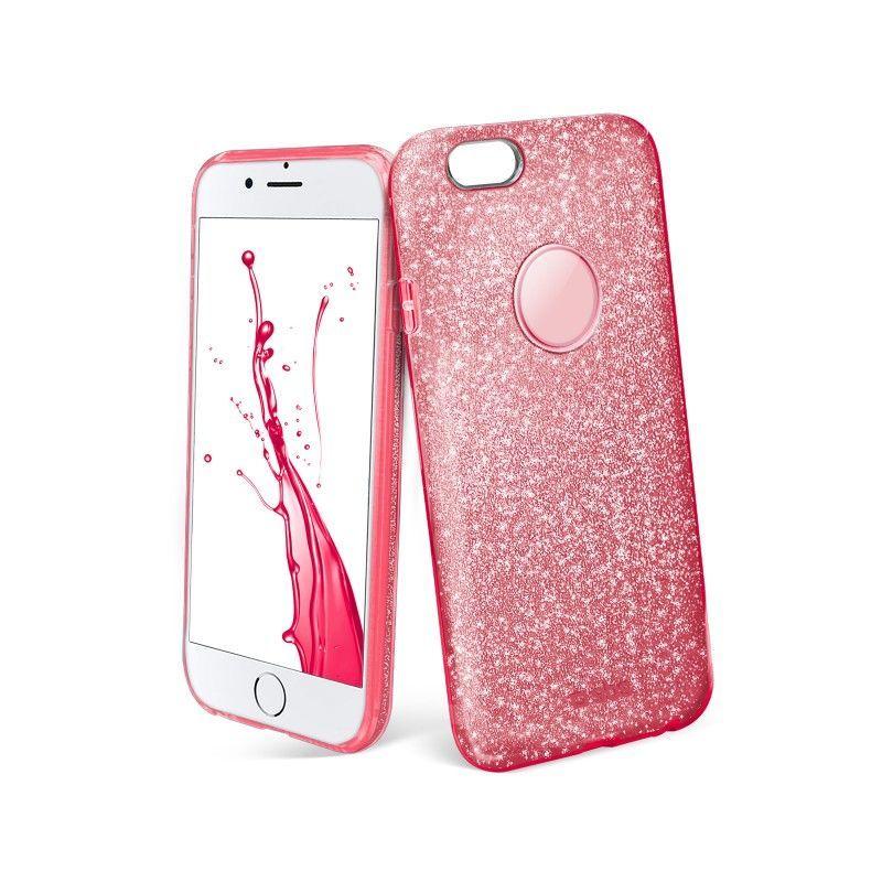SBS iPhone 7 Pouzdro na mobil (růžové)