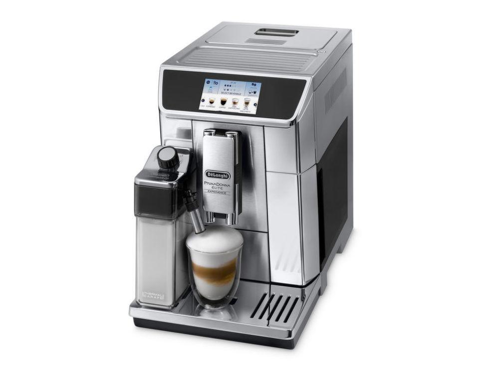 DéLonghi Primadonna Elite Experience ECAM 650.85 MS (stříbrná) - Automatické espresso