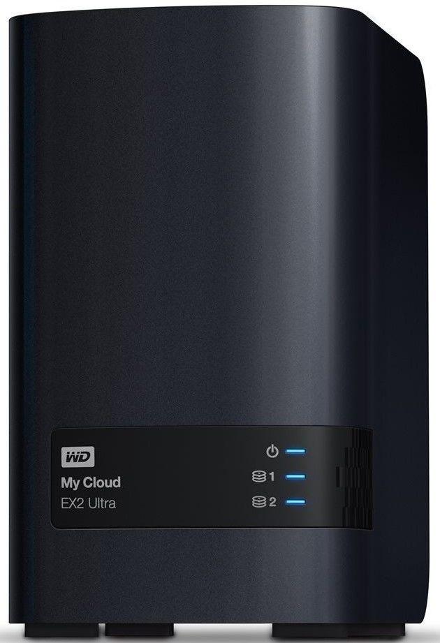 WD My Cloud EX2 Ultra 2x4TB (černý)