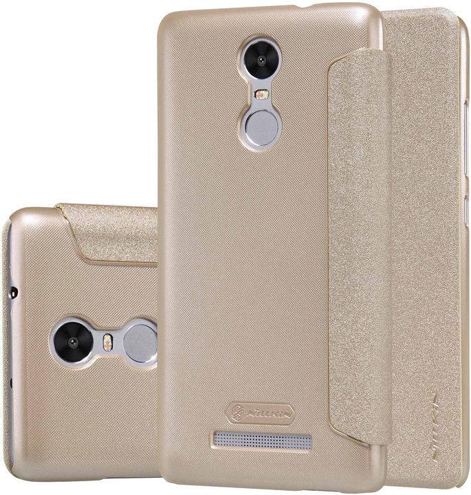 NILLKIN Sparkle Folio Xiaomi Redmi Note 3 Pouzdro (zlaté)