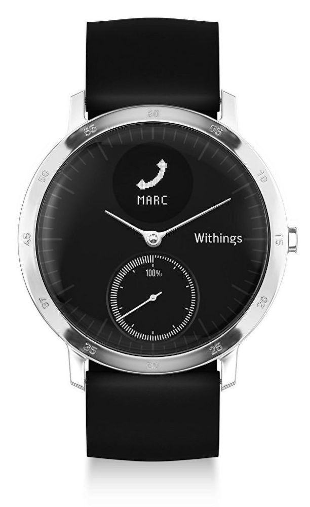 Withings Active Steel HR 40mm černé