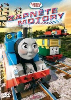 Mašinka Tomáš: Zapněte motory - DVD film