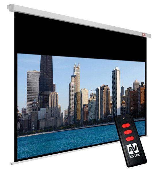 Avtek Cinema Electric 240 projekční plátno