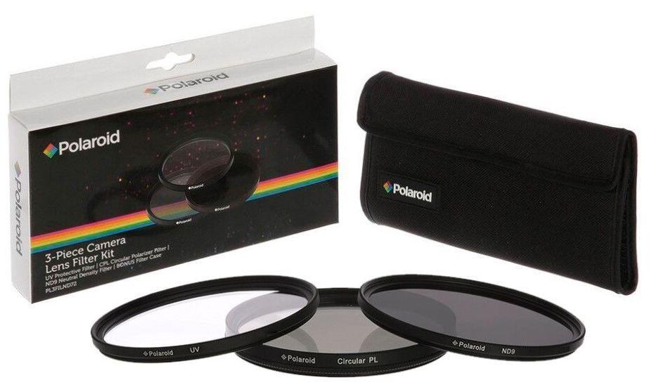Polaroid 58mm UV MC, CPL, ND9 Filtr kit 3ks