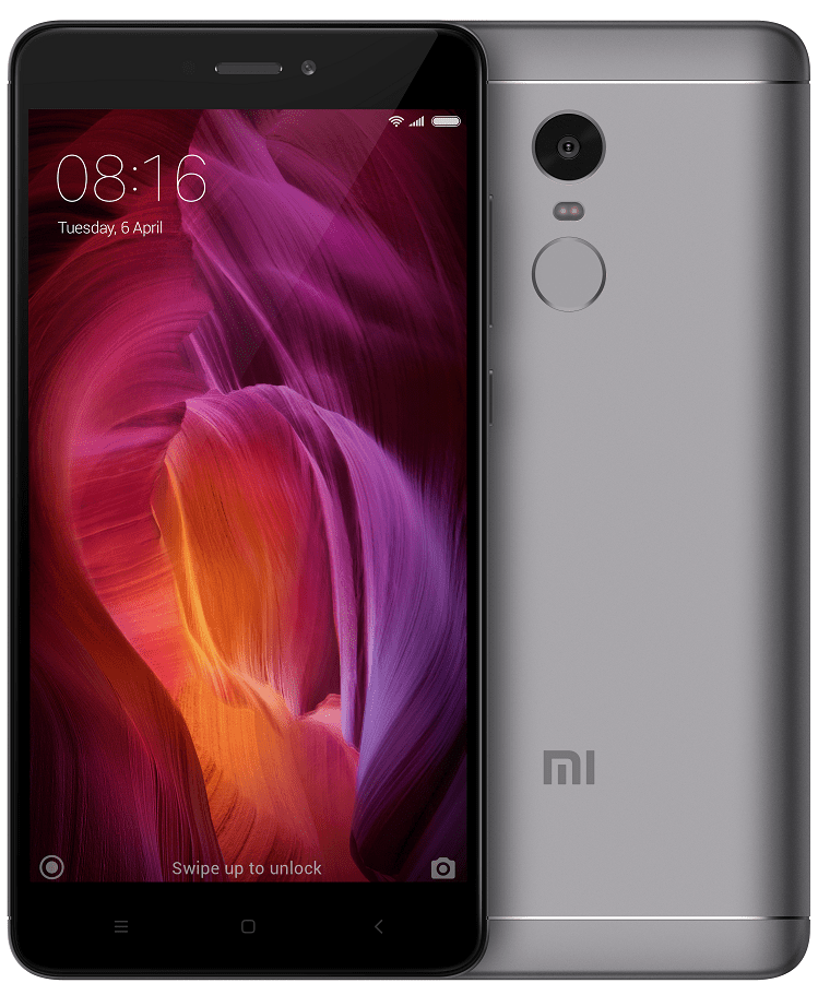 Xiaomi Redmi Note 4 3GB/32GB Dual SIM, šedá