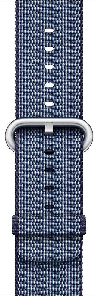 Apple Watch 38mm půlnočně modrý nylonový řemínek