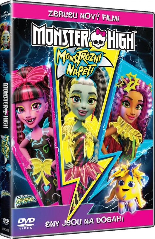 Monster High: Monstrózní napětí - DVD film