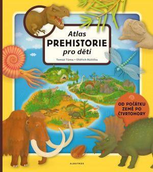 Albatros Atlas pro děti Prehistorie