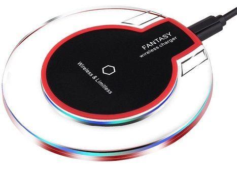 Ja Electronics UFO W-C008 černá bezdrátová nabíječka