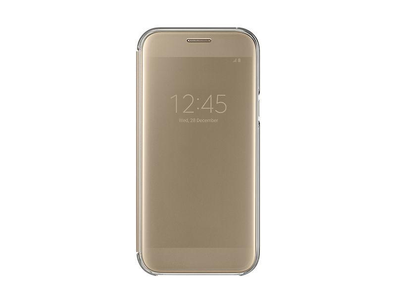 Samsung Galaxy A5 2017 zlaté Clear View pouzdro