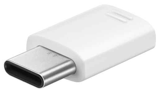 Samsung EE-GN930BWEGWW bílý adaptér micro USB - USB typ C