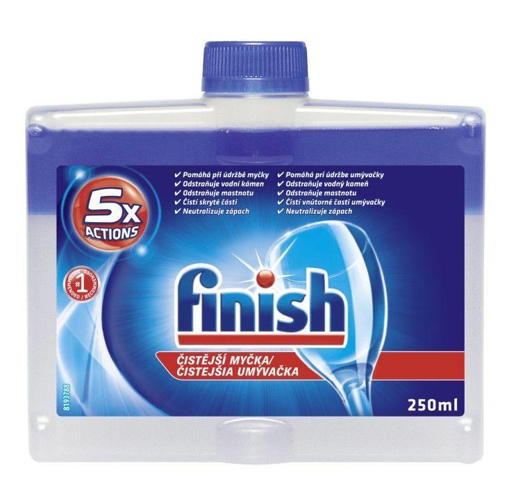 Finish čistič 250 ml čistič pro myčky nádobí