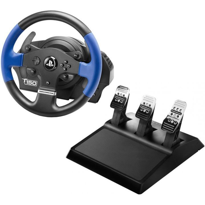 thrustmaster 4160696 t150 pro a t3pa pc ps3 ps4 ps4 pro volant a ped ly. Black Bedroom Furniture Sets. Home Design Ideas