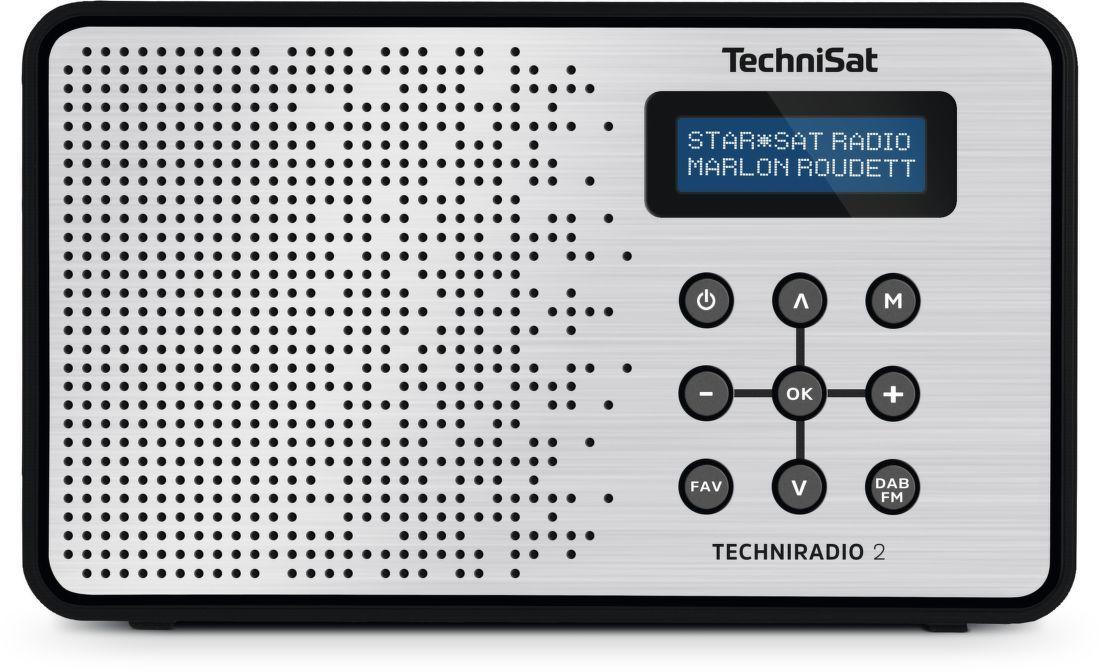 TechniSat TechniRadio 2 DAB stříbrné