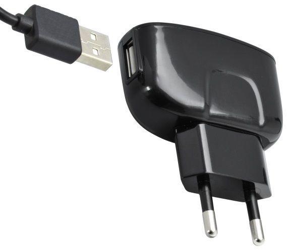Mobilnet Síťová nabíječka na mobil USB typ C 2A černá