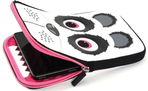 "TABZOO Sleeve Panda pouzdro pro tablet 10-11"""
