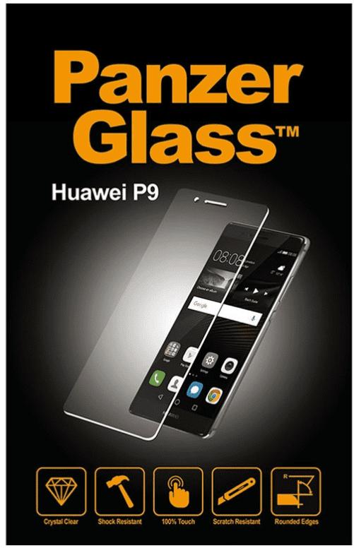 Panzerglass transparentní sklo na Huawei P9