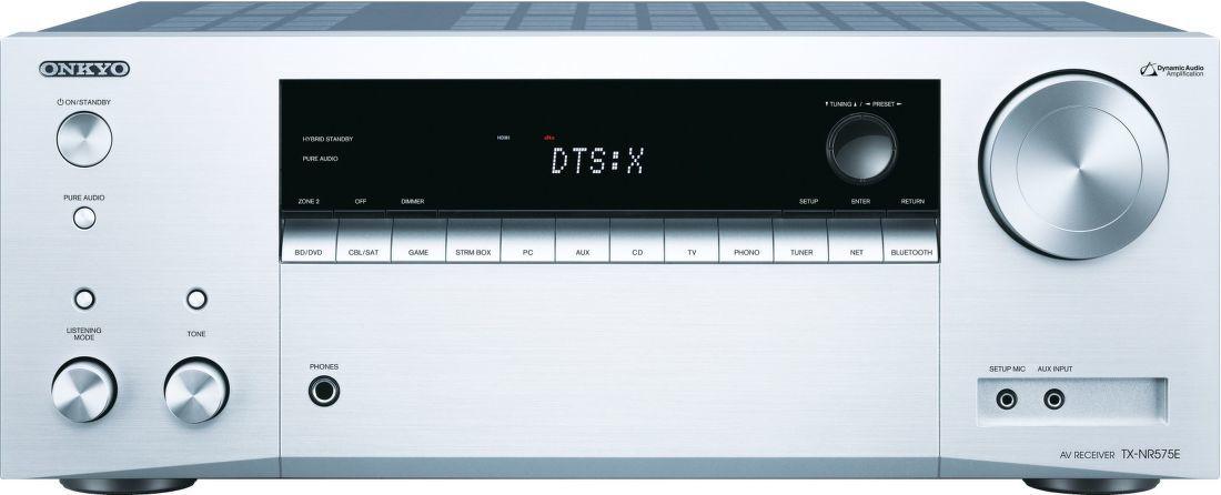 Onkyo TX-NR575E stříbrný
