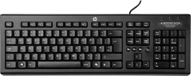 HP USB CZ - Klávesnice