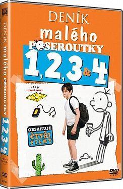 Deník malého poseroutky 1-4 - DVD