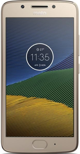 Motorola Moto G5 2GB zlatý
