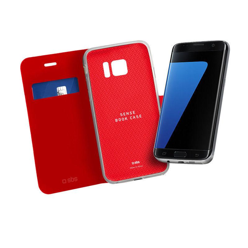 SBS knížkové pouzdro Samsung Galaxy S7 Edge červené