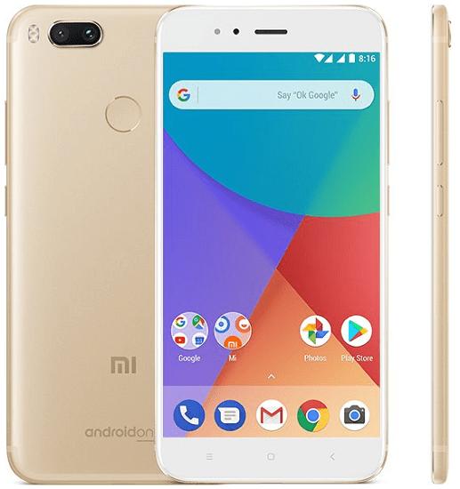 Xiaomi Mi A1, zlatá