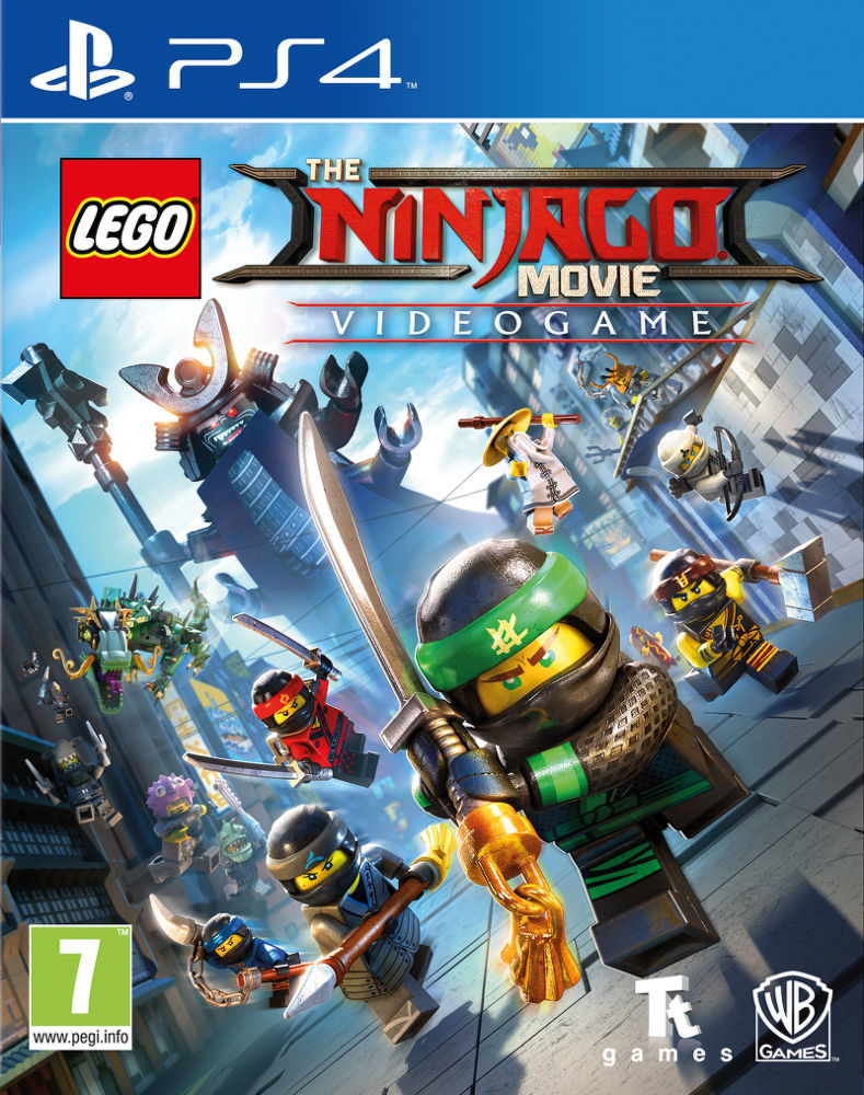 Lego Ninjago Movie - PS4 hra