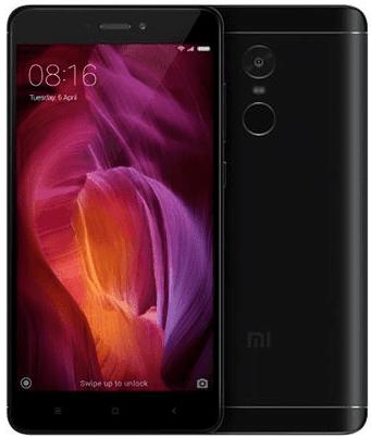 Xiaomi Redmi Note 4 4GB/64GB Dual SIM černý