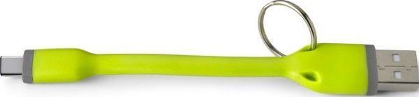 Celly USB-C klíčenka, zelená