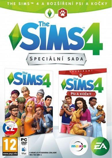 The Sims 4 + The Sims 4 Psi a kočky - PC hra