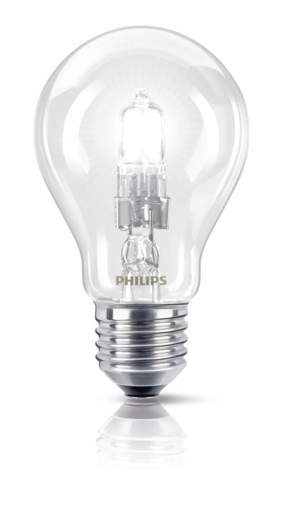 Philips EcoClassic30 42W E27 230V A55 CL
