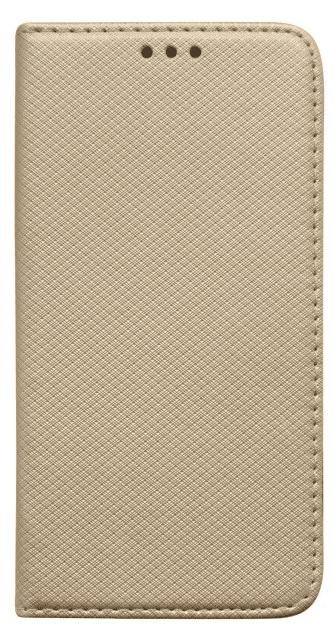 Mobilnet knížkové pouzdro pro Xiaomi Redmi 7A, zlatá