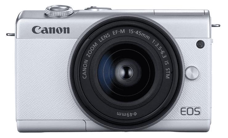 Canon EOS M200 bílá + Canon EF-M 15-45mm IS STM