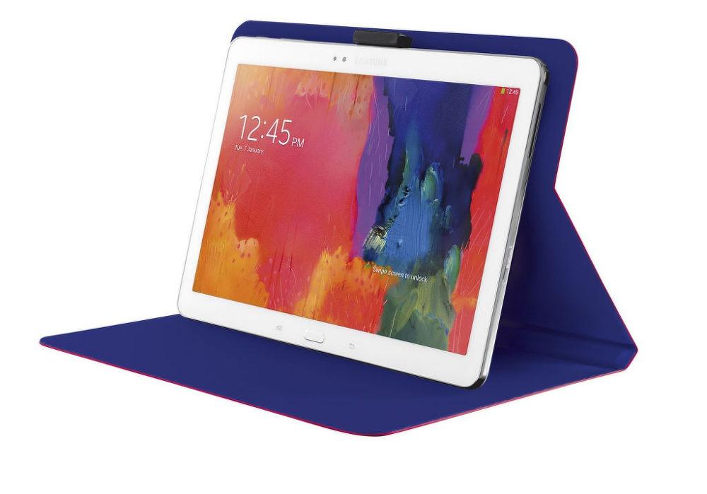 Aeroo Ultrathin Folio Stand pro 10 palcové tablety (růžová)