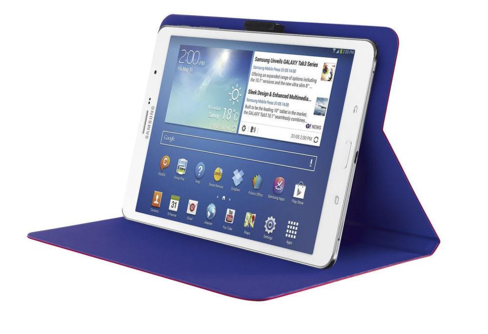 Trust Aeroo Ultrathin Folio Stand pro 7-8 palcové tablety (růžová)