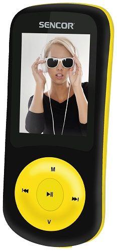 Sencor SFP 5870 BYL 8 GB černo-žlutý