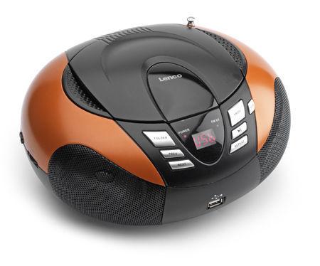 Lenco SCD-37 R oranžový