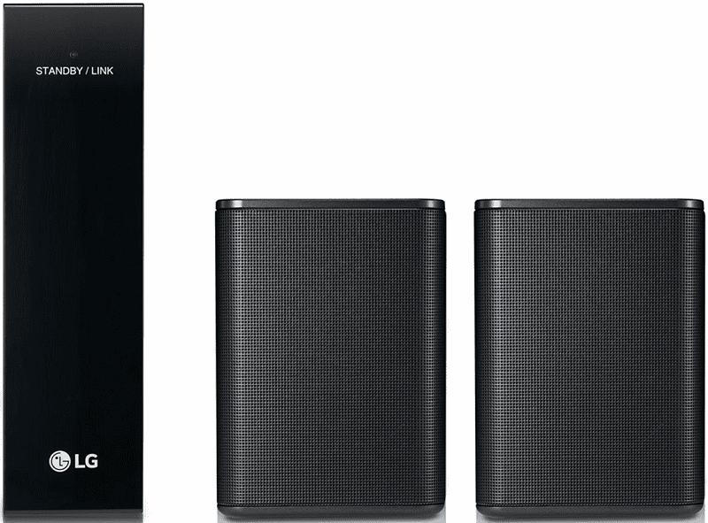 LG SPK8 černé reproduktory pro soundbar