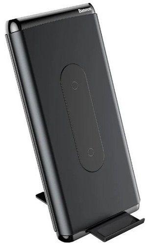 Baseus Wireless Charger powerbanka Qi USB-C 10000 mAh, černá