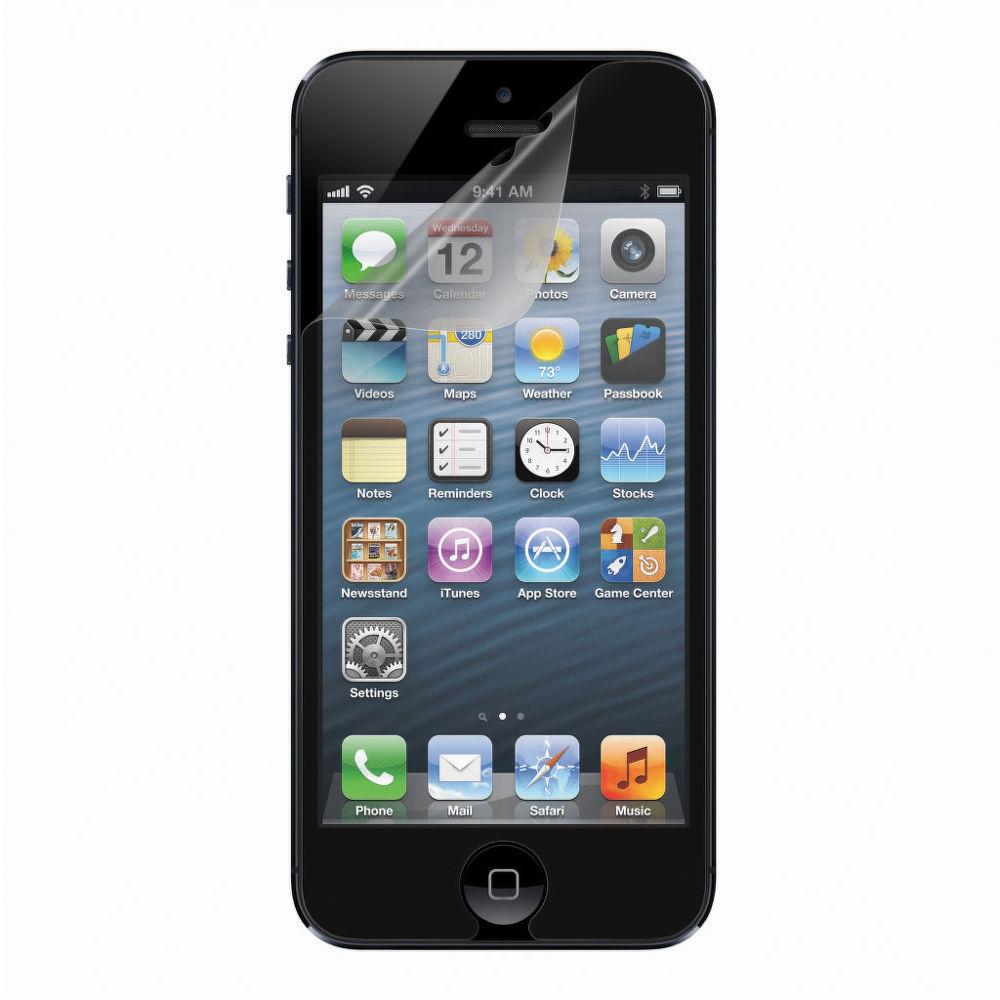 BELKIN ScreenGuard 3ks iPhone 5, čirá