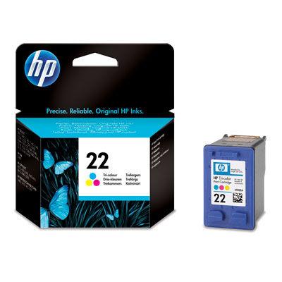 HP C9352AE No.22 color - inkoustová náplň