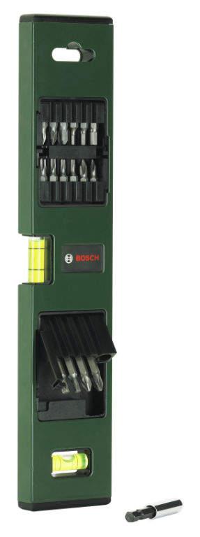 Bosch Promoline 16 bitů + vodováha