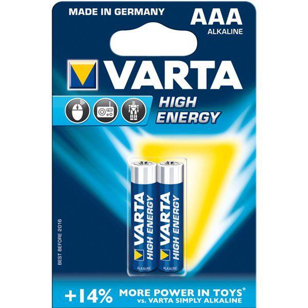 Varta High Energy AAA LR03 4903/2, 2ks