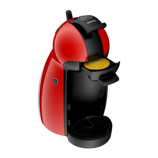 KRUPS KP1006 Nescafé Dolce Gusto PICCOLO (červená) - Kapslový kávovar + dárek Nescafé Dolce Gusto Latte Macchiato Vanilla zdarma