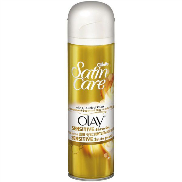 GILLETTE GNH SATIN CARE OLAY 200ML, Gel na hol.