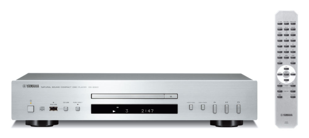 Yamaha CD-S300 (stříbrný)