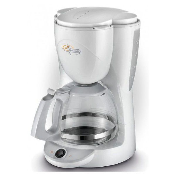 DELONGHI ICM2.1 (bílá) - Prekapávací kávovar