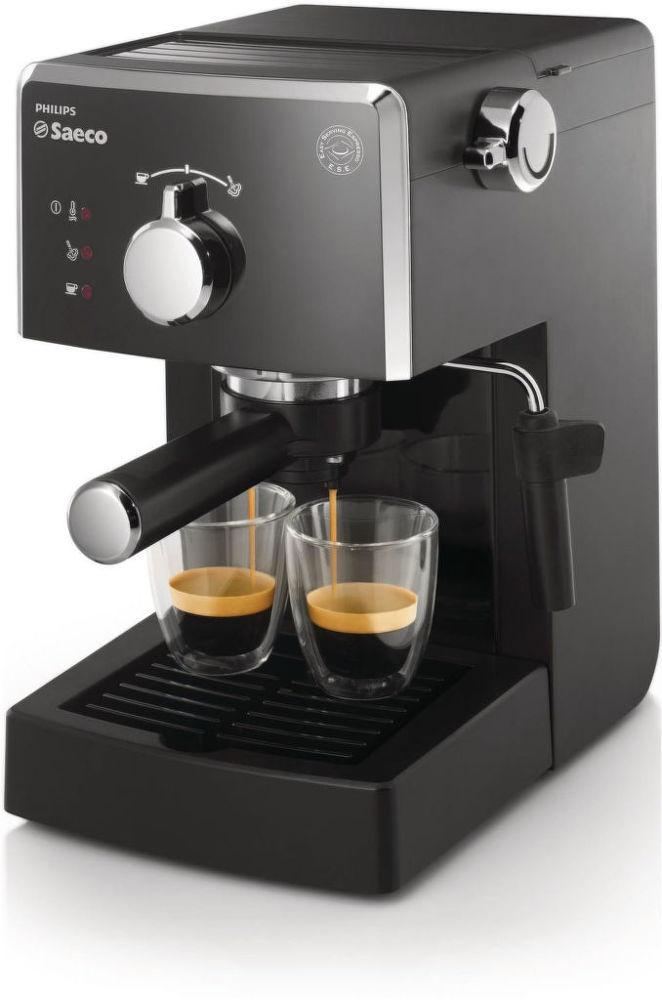 SAECO HD8423/19 POEMIA (černá) - Pákové espresso